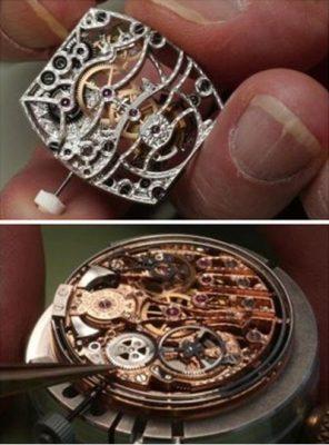 Chơi đồng hồ nghệ thuật Skeleton